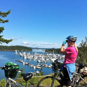 San Juan Island and Derailleur Disaster