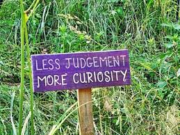 Judgement or Curiosity?