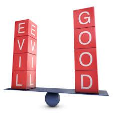 good or evil balance