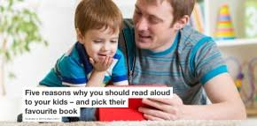 reading aloud together