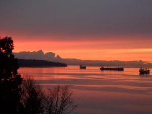 Magic of sunsets